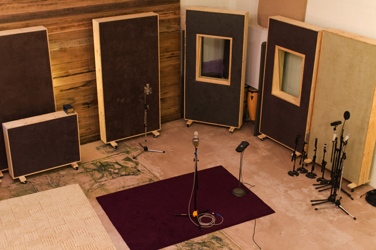 Live Recording Room at Alchemix